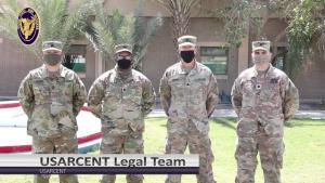 USAR Birthday shoutout - Camp Arifjan Legal