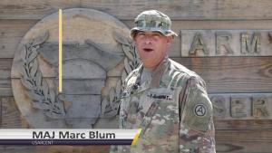 USAR Birthday shoutout - MAJ Marc Blum