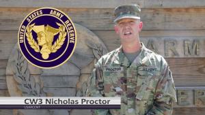 USAR Birthday shoutout - CW3 Nicholas Proctor