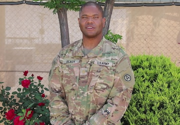 MAJ Black's Mother's Day Greeting
