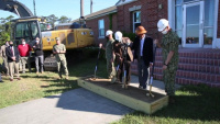 $1.15 Billion in Hurricane Recovery Projects Kick off on Camp Lejeune