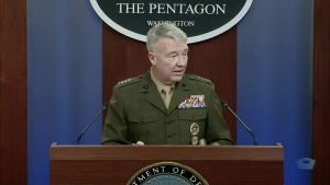 Centcom Leader Holds News Conference