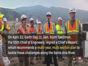Prado Basin Ecosystem Restoration, Chief's Report