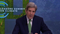 Special Presidential Envoy for Climate John Kerry Participates in the Virtual Leaders Summit on Climate