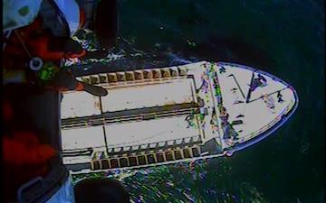Coast Guard successfully medevacs fisherman from vessel off Block Island
