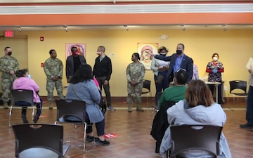 U.S. Army Brig. Gen. Janeen Birckhead and Congressman Anthony Brown visit CASA Multicultural Center [B-Roll]