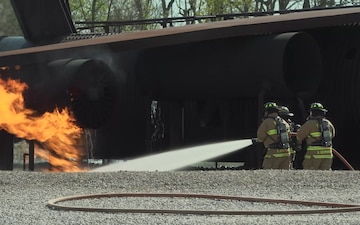 WPAFB Fire Department Training
