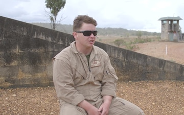 EOD with MRF-D conducts UXO range *Interview*