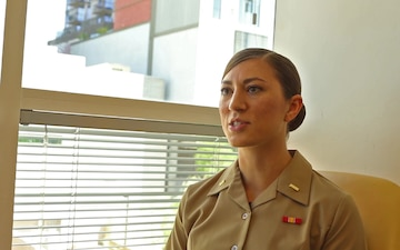 Second Lieutenant Elizabeth Monsey talks about her joining to becoming a Marine Corps Officer