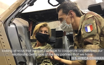 AFRICOM leader highlights support to African and international partners during Sahel visit