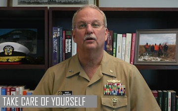 US Navy Surgeon General Encourages Personal Resilience
