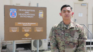 PFC Montes' Mother's Day Greeting