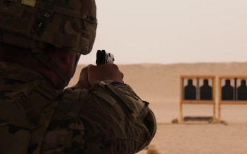 Task Force Spartan 2nd Annual Small Arms Marksmanship Competition