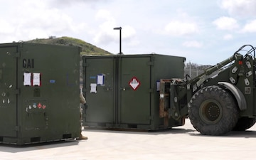 B-Roll: Marines, airmen test embark capabilities during Patriot Hook