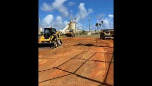 Dirt Boys Reconstruct Softball Fields on Andersen