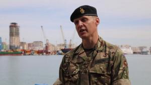 UK Brigadier General Mark Jo Chestnutt Interview May 3, 2021 DE21 B-Roll
