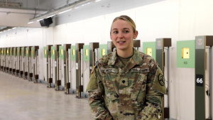 Interview with 2021 Olympian Spc. Alison Weisz, part 4 of 6