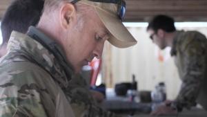 Navy EOD Technicians Train at Demolition Range