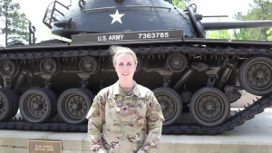 SPC  Amber Cobena (USARCENT) Mother's Day Shoutout