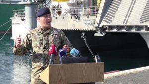 British Maj. Dan Cornwell interview