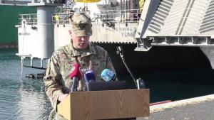 U.S. Army Col. Joshua Hirsch interview