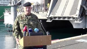 Croatian Maj. Zeljko Vuk interview