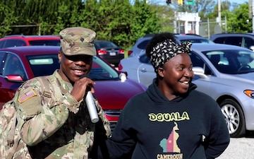MDNG 29th Infantry Division Departs for Deployment (B-Roll)