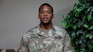 PFC Jonathon Robinson Mother's Day Message