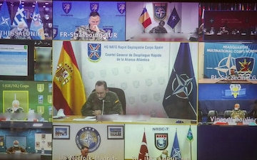 NATO Allied Land Command hosts virtual LC3 (2ND UPLOAD)