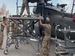 1100th TASMG PROVIDES LOGISTICAL SUPPORT TO ASB 28th CAB