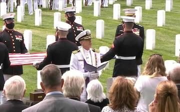 Funeral service of Marine Corps General John Kerry Davis