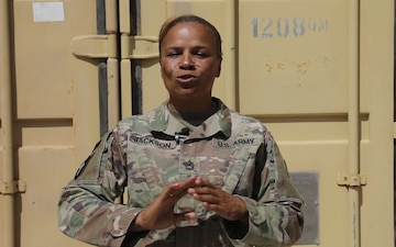 310th ESC Soldiers deployed to Camp Arifjan send 'Happy Mother's Day' shout outs