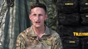 Capt. Behnfield DEFENDER-Europe 21 shoutout