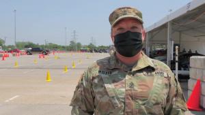 Big Red One Medical 1SG Discusses Assisting at Dallas CVC