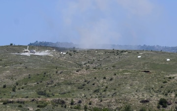 The Army of North Macedonia and U.S. Forces Conduct Live-Fire Training Exercise during Trojan Footprint