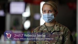 U.S. Army Nurses share admiration for profession during Nurses Week