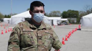 U.S. Air Force Senior Airman Nathaniel Duregger talks about his military career