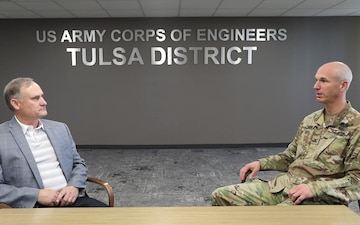Tulsa District Commander Interview May 7 2021