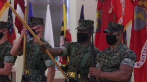 2d Marine Regiment Change of Command B-Roll