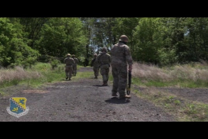 Training with the 111th Security Forces Squadron