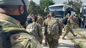 Florida Army National Guard Arrives in Skopje, North Macedonia
