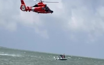 Coast Guard rescues 4 from vessel taking on water near Port Mansfield, Texas