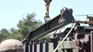 Patriot Missile Load drills- B-roll