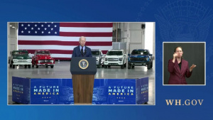 President Biden Delivers Remarks at the Ford Rouge Electric Vehicle Center