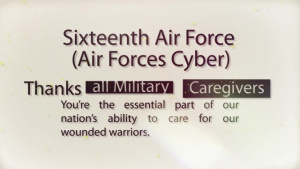 Thank You Military Caregivers