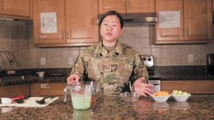 Asian American Pacific Islander Heritage Month Cooking: Senior Airman Kim Jue Gov