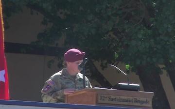 82nd Finance Battalion Activation Ceremony