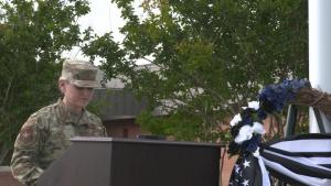 National Police Week Retreat Ceremony