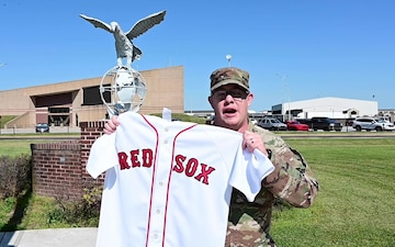 Red Sox MLB Shout Out Staff Sgt. Davis