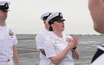 USS Theodore Roosevelt (CVN 71) Return to Home Port